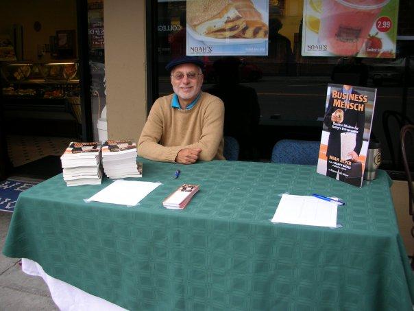 Noah's Bagels business guru Noah Alper is a Jewish entrepreneur who wrote
