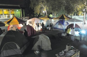 Tent City provides education, not partying