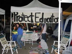 Intensity in Tent City