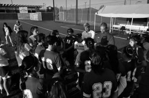 Women's soccer battle Foothill College Oct. 1