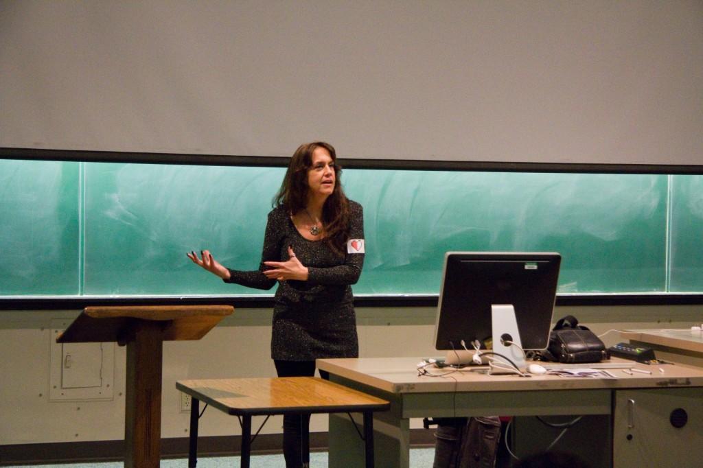 """PASSIONATE - Game designer Brenda Braithwaite explains the details of her slavery-inspired game """"Passage."""""""