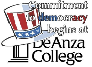 Commitment to democracy begins at De Anza College