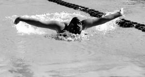 Swim team  glides into  end of season