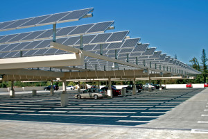 Solar panel construction to interfere with parking for summer, fall students