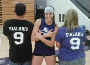 Volleyball Hopeful