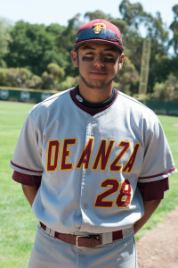 De Anza college's Baseball Brothers: Chris Gallegos