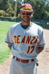 De Anza college's Baseball Brothers: Rey Gallegos