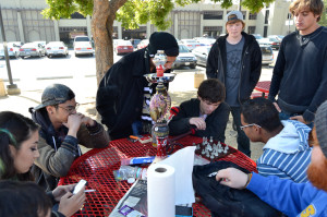 Parking Lot C smoking area a haven for De Anza's counterculture