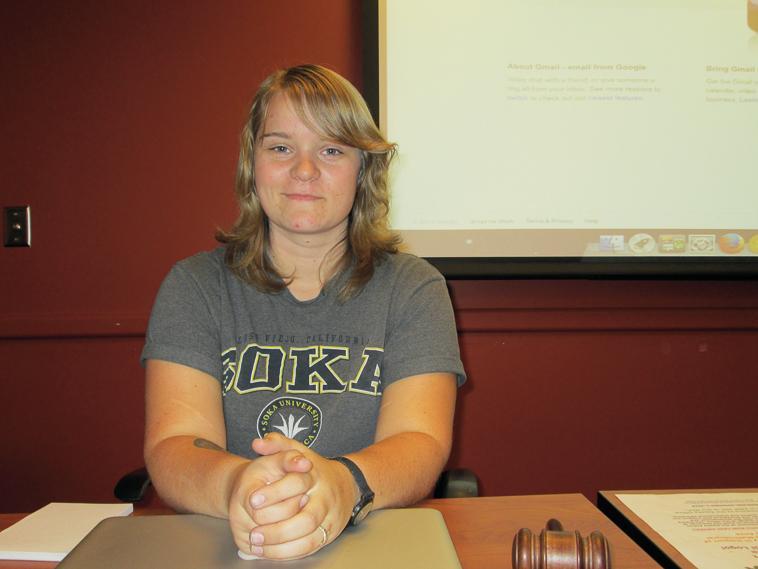 DASB president Stacie Rowe