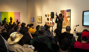 Open mic encourages self expression and celebrates black history
