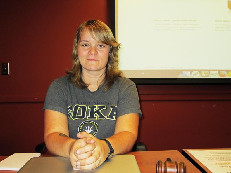 DASB Senate President Stacie Rowe resigns