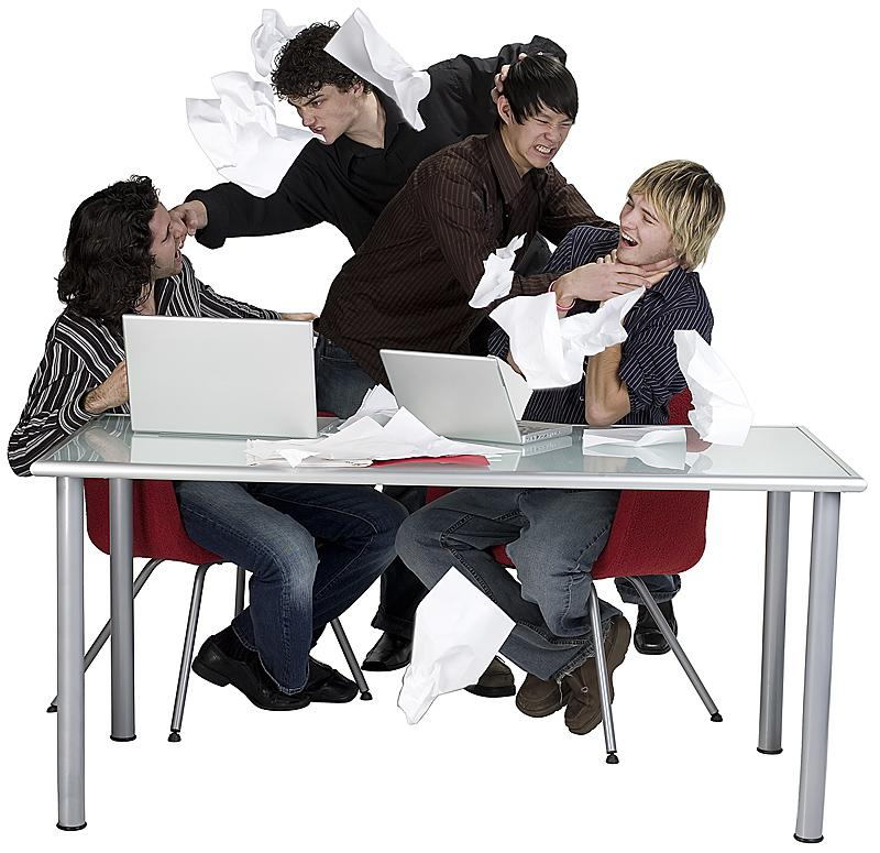 Group work is more trouble than it's worth