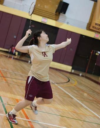 Sports Profile: Pinky Li, a calming presence