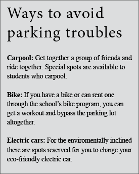 De Anza students need to stop complaining about parking