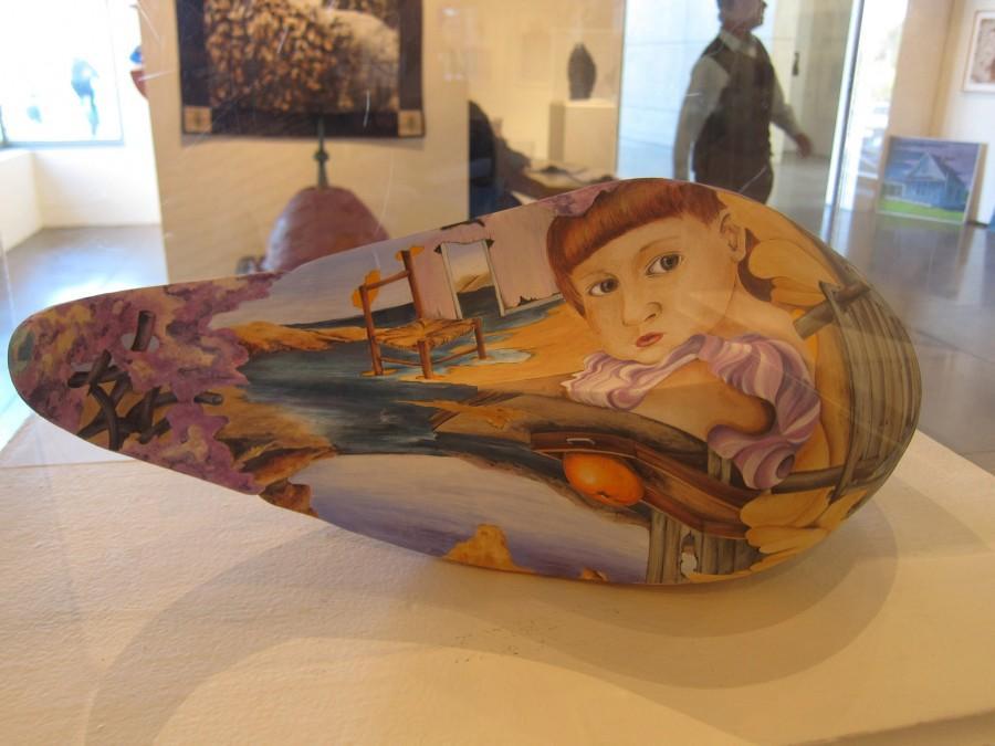 """Julia Feid, """"Stage of Uncertainty, 2011."""" Ceramics."""
