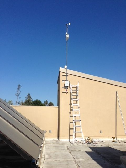 De Anza's new state of the art weather station