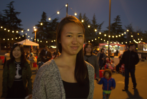 """Great energy, great music. The food is great and unique. You can't get it anywhere else."" Kelly Chang, 18, political science"