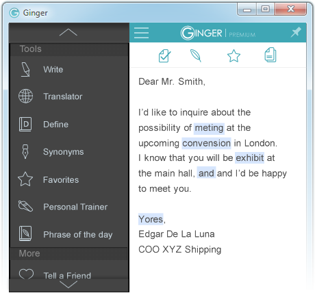 "APP REVIEW: ""Ginger Page"" a great new tool for students who need writing help"