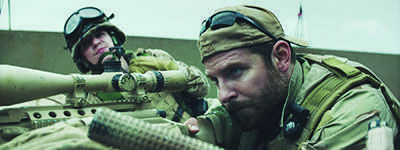 Movie review: American sniper action-packed but sentimental war film
