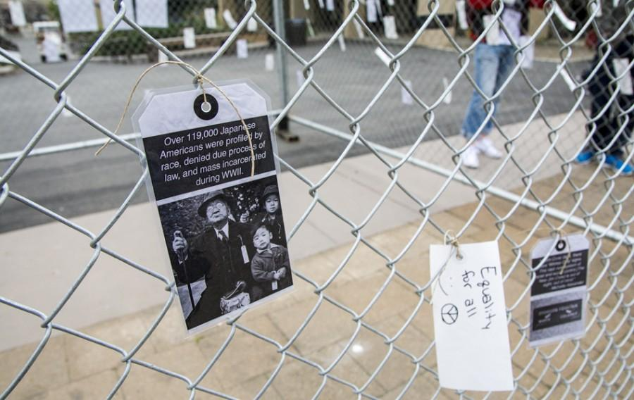 Preview Story: Interactive art fence represents civil liberties