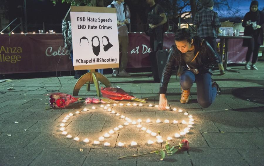 Candlelight vigil honors victims of Chapel Hill shooting