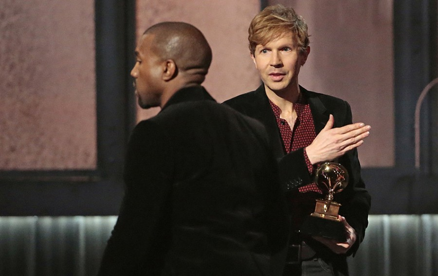 Kanye Storms Grammys