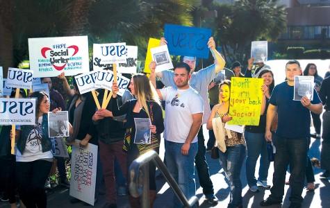 SJSU Students Protest Cuts