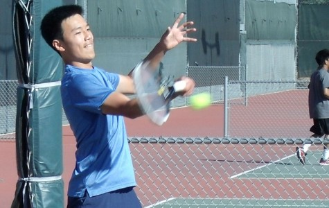 De Anza men's tennis team wins first match