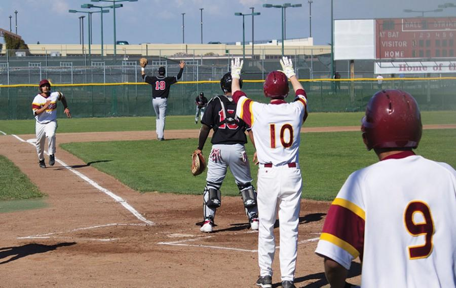 De Anza Baseball Crushes city college of San Francisco