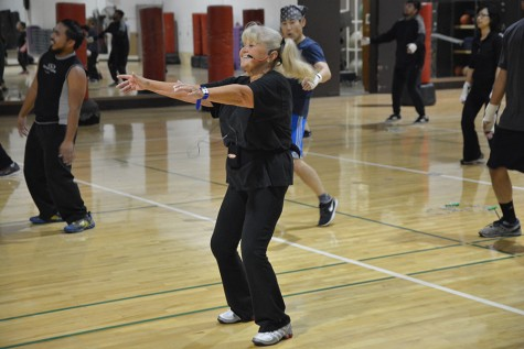 Keeping in shape with cardio kick