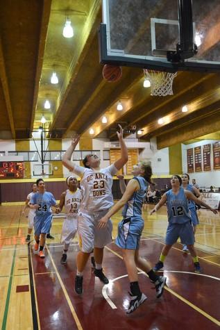 Dons demolish cabrillo by double digits: De Anza women's basketball team wallops Seahawks 70-37