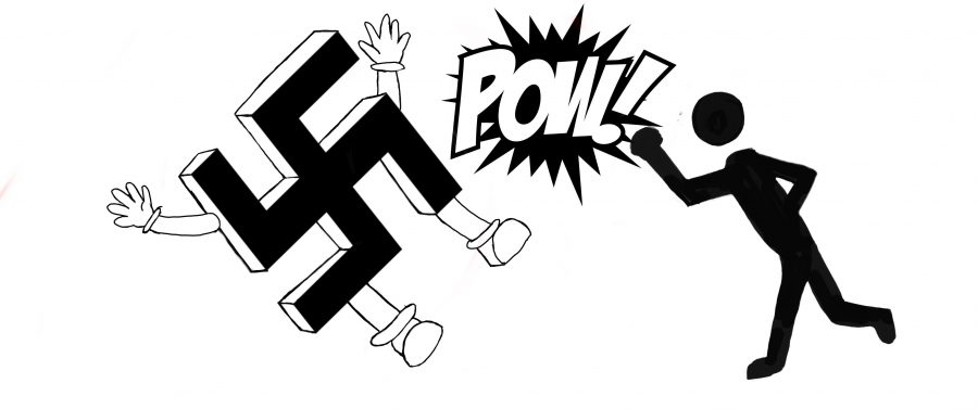 Fight+Nazis+with+peaceful+condemnation%2C+not+punches