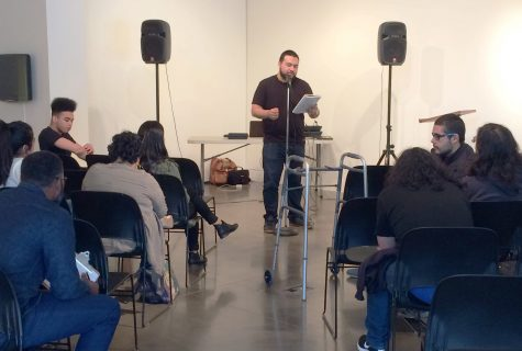 Euphrat's open mic night features original music and poetry