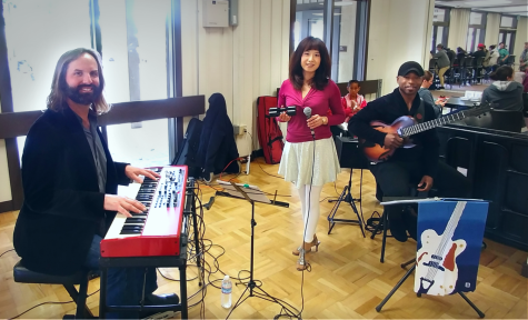 Multilingual jazz and pop welcomes students to the quarter