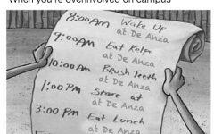 De Anza memes unite campus through shared politics, parking and lack of social life
