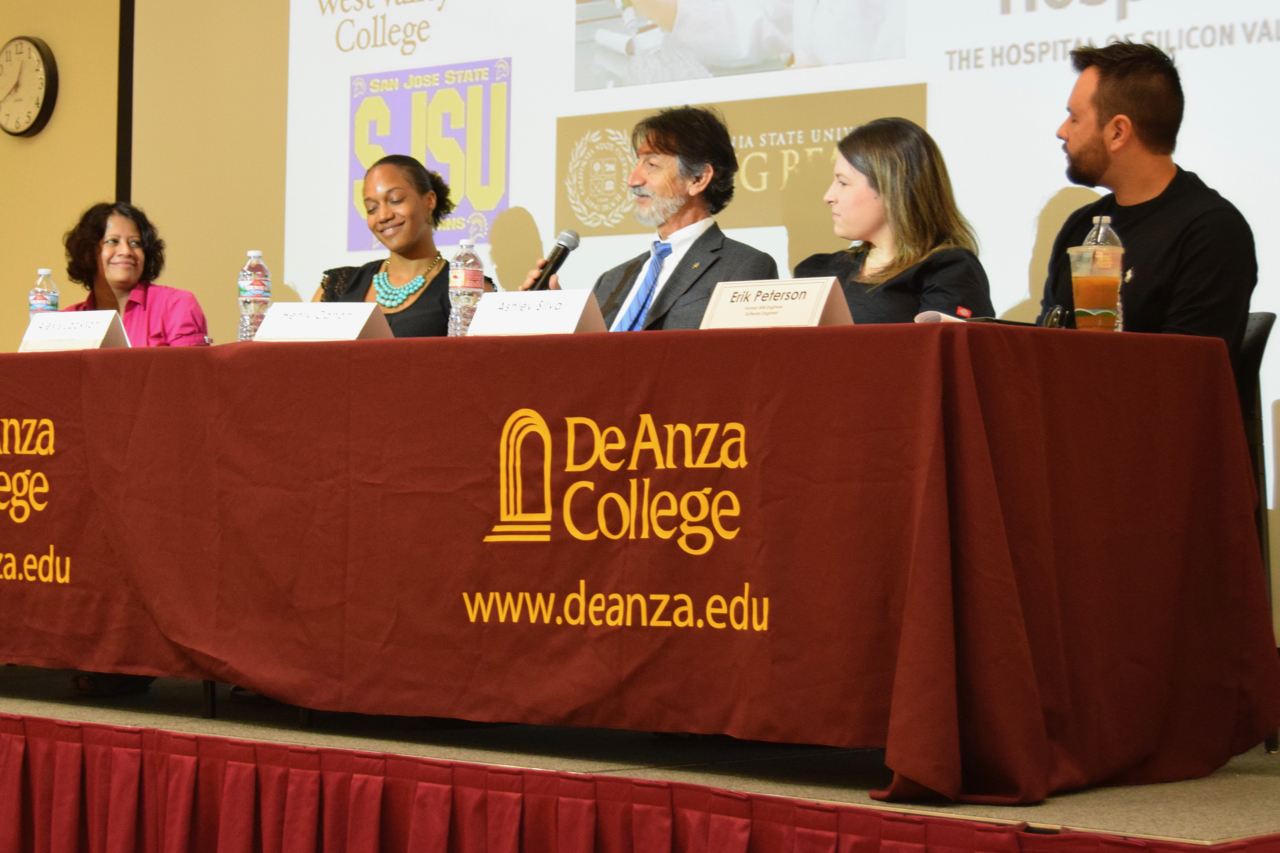 Former community college students give professional advice