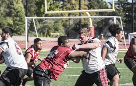 Early start for the De Anza College football team: Dons back to practice