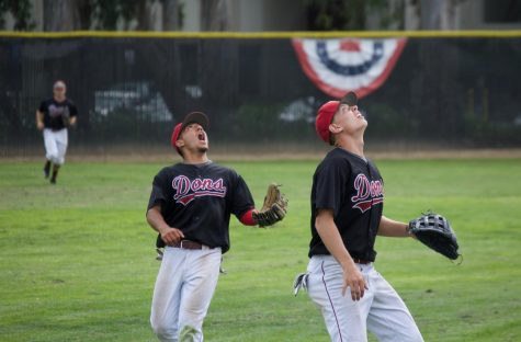 Versatile baseball leader plays both sides of battery for De Anza College team