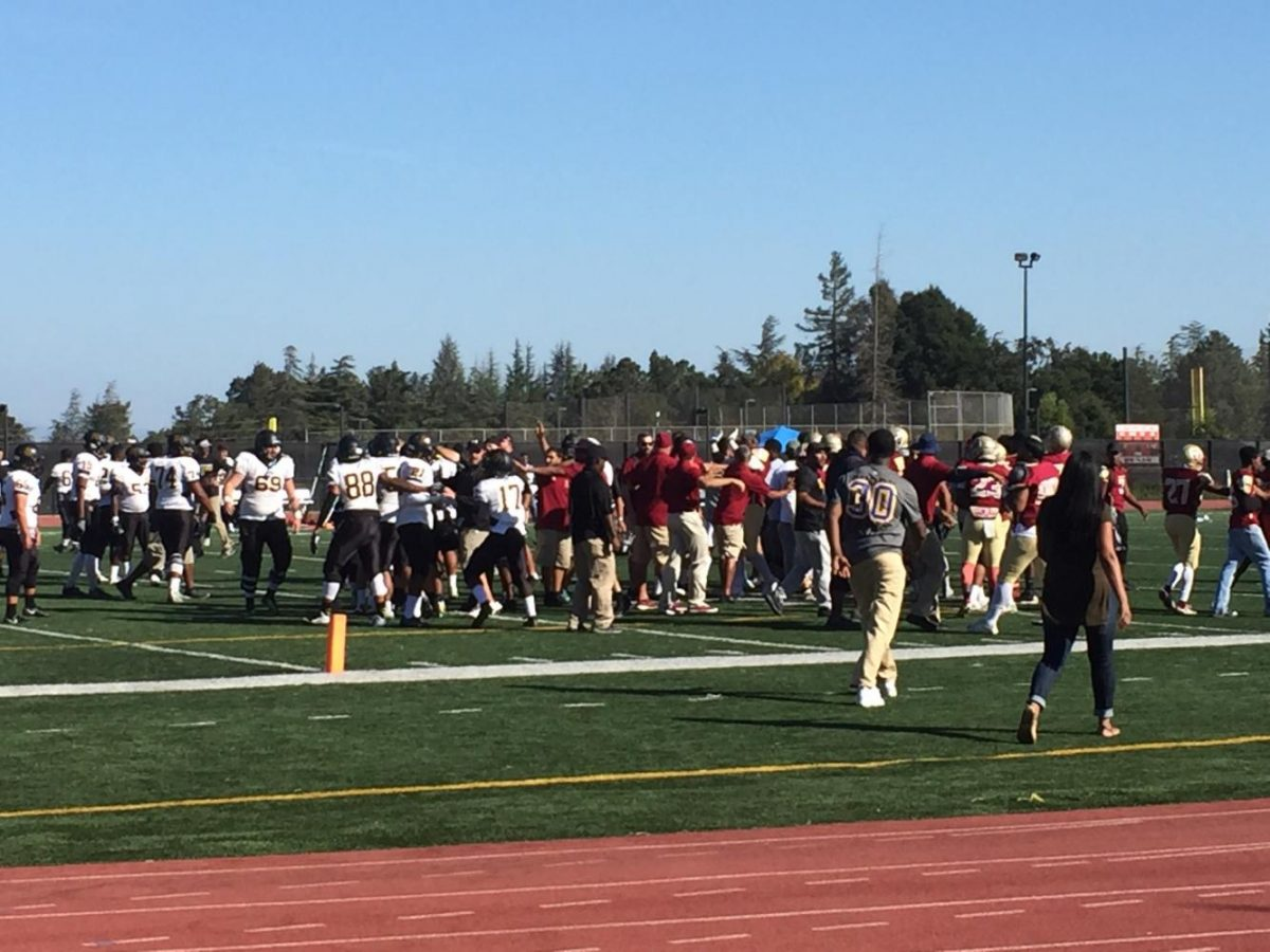 Fight overshadows football as De Anza falls to Chabot, 15-9