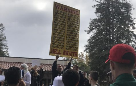 De Anza students counteract intolerance with messages of acceptance, friendship