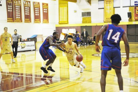 Final minute dooms men's basketball in loss