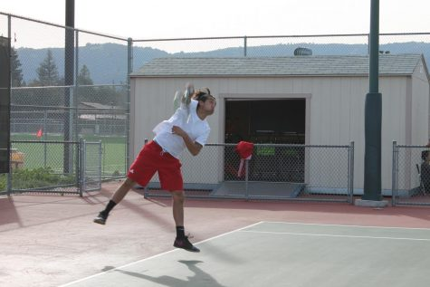 Men's tennis blanks Cabrillo
