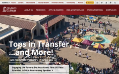 PREVIEW: De Anza's website gets a much-needed update