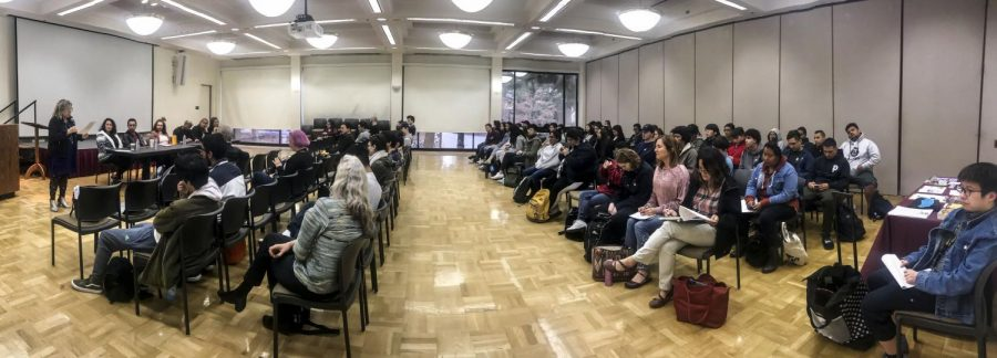 Visiting speakers series humanizes hardships of immigrants