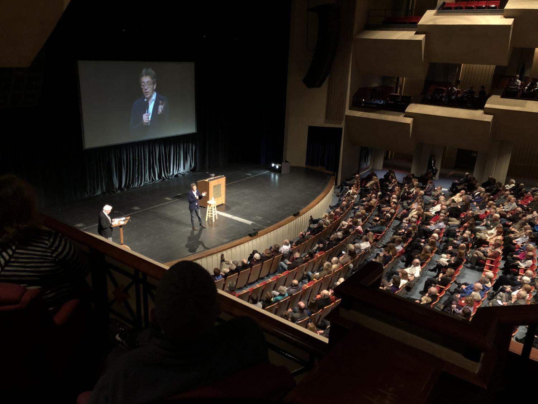 Celebrity Speaker Ian Bremmer answers audience questions, Jan 17.