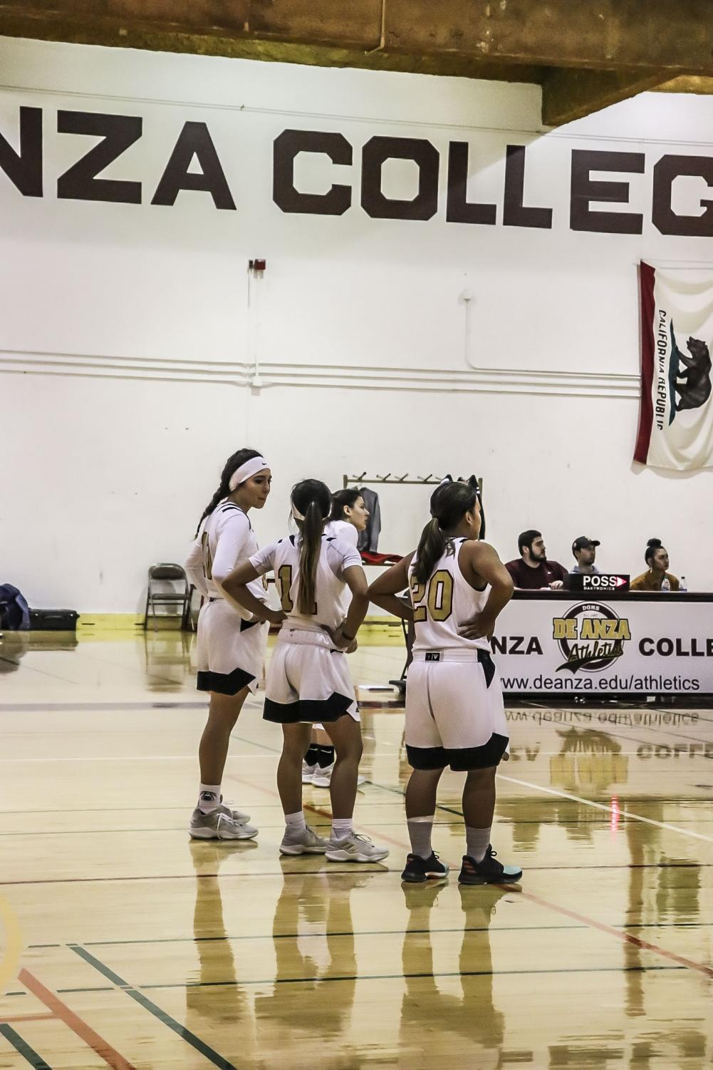 The+De+Anza+College+women%27s+basketball+team+lost+29-106+despite+showing+strong+spirit+at+the+Jan.+11+home+game.