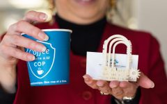 'Coffee with a Cop and Chancellor'  provides opportunity for conversation