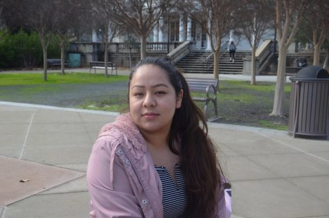 "Keyla Diaz, 20, graphic design major ""It could be both good and bad. Good because it's better for the environment, and bad because hand dryers are unsanitary."""