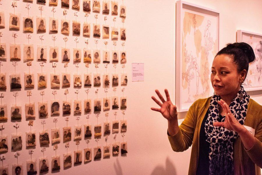 Artist Trinh Mai discusses her work,