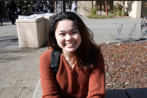 "Allison Ing, 20, nursing, ""I wish I had someone with whom I could share food. I think it's nice to eat food with others."""